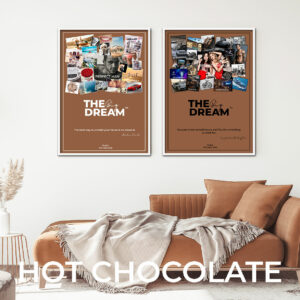 vision board, dream board kit, custom poster, personalized, vision board kit, digital dream board, positive thinking, law of attraction, dream big, positive mind, visualization, affirmation, manifestation, mood board,